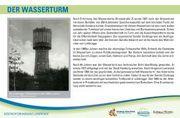 Der Wasserturm   Standort: Fußweg Sander Tannen östlich Wasserturm